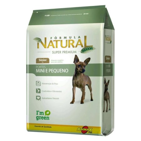 FORMULA NATURAL SENIOR PORT MINI PEQUENO 7KG