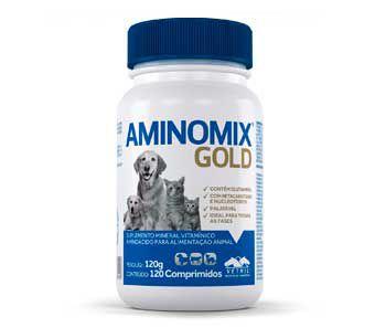 AMINOMIX GOLD COMPRIMIDO 120g