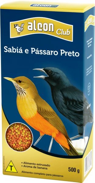 ALCON CLUB SABIA E PASS.PRETO 500GR