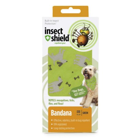 BANDANA VERDE INSECT SHIELD