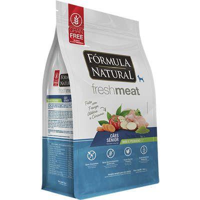 FORMULA NATURAL FRESH MEAT SENIOR MINI/PQ 1KG