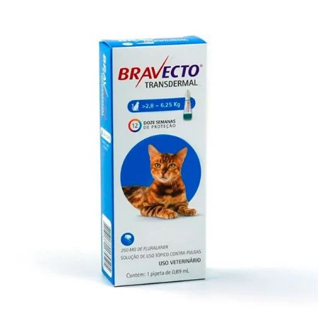 BRAVECTO TRANSDERMAL GATOS 250MG