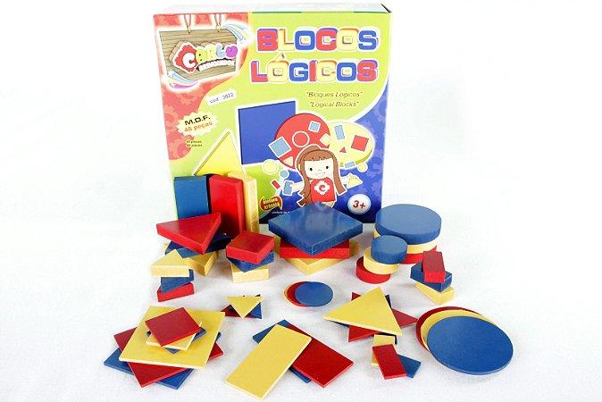 Blocos Lógicos  - 48 peças