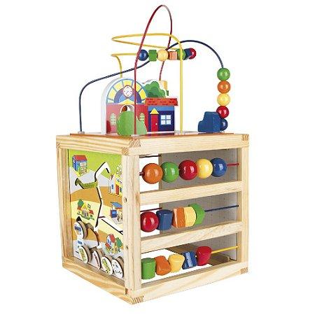 Brinquedo Pedagógico 5 em 1 - Aramado Casinha
