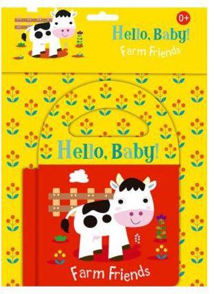 Livro de Banho em Inglês - Farm Friends