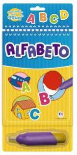Livro Aquabook Colorindo com Água - Alfabeto