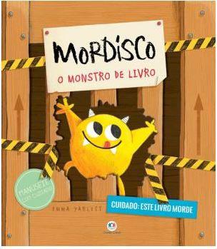 Livro com Abas Mordisco - O monstro de livro