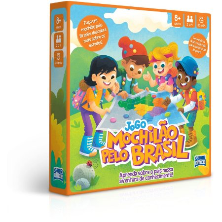 Jogo Educativo Mochilão pelo Brasil