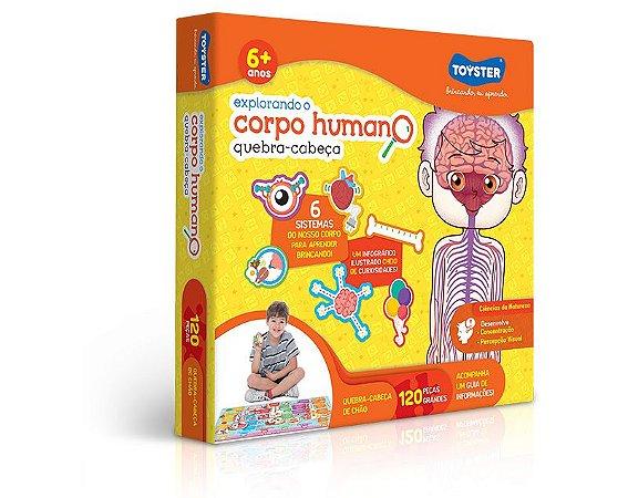 Quebra Cabeça Educativo Explorando o Corpo Humano
