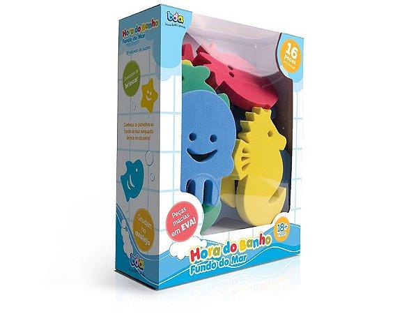 Brinquedo Educativo Hora do Banho Fundo do Mar
