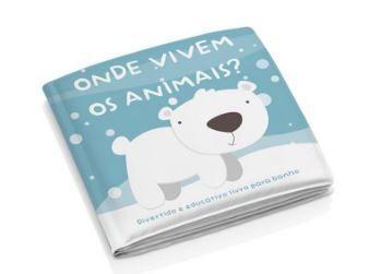 Livro de Banho - Onde vivem os animais?