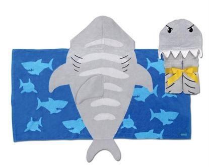 Toalha tubarão - Infantil