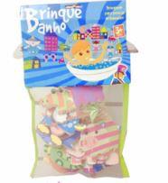 Brinque banho Kit Animais
