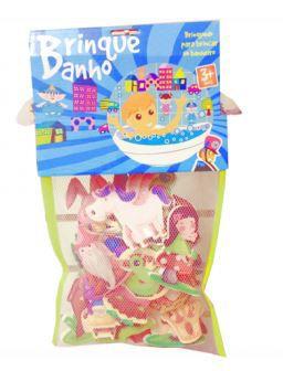 Brinque banho Kit Princesas