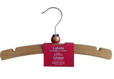 Cabide de madeira - Joaninha