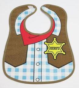Babador impermeável - Xerife