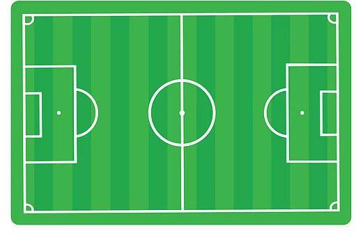 Jogo Americano - Campo de Futebol - 1 unidade