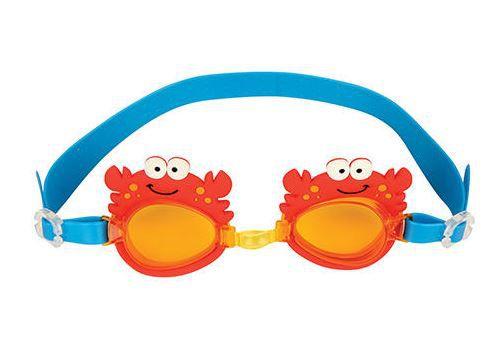 Óculos de natação divertido - CARANGUEIJO