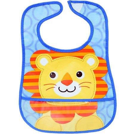 Babador Impermeável com bolso - Leão