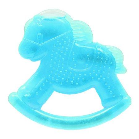 Mordedor com água - Cavalinho AZUL