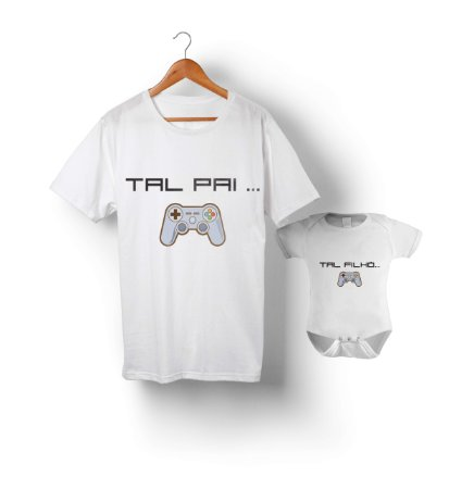 Kit Tal Pai Tal Filho - Gamer