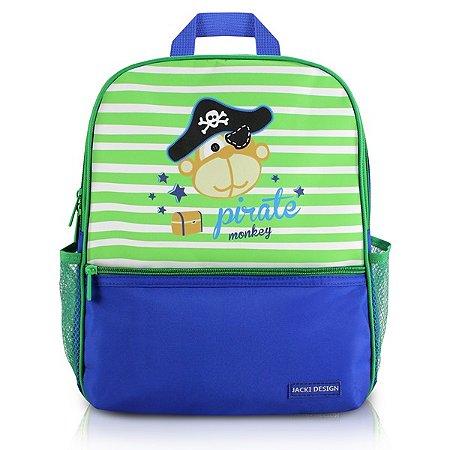 Mochila Escolar PEQUENINOS - AZUL - Pirata