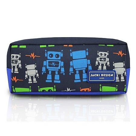 Estojo - Robô SAPEKA - Azul