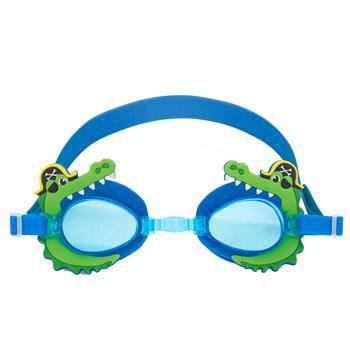 Óculos de natação divertido - JACARÉ