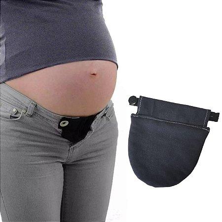Extensor de calça para gestante - Preto