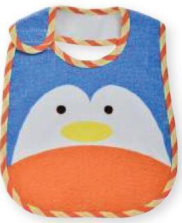 Babador impermeável Carinhas - Pinguim
