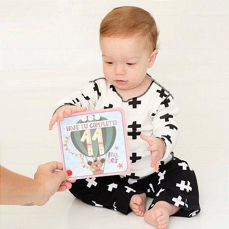 Plaquinhas - Momentos do Bebê (18 unidades)