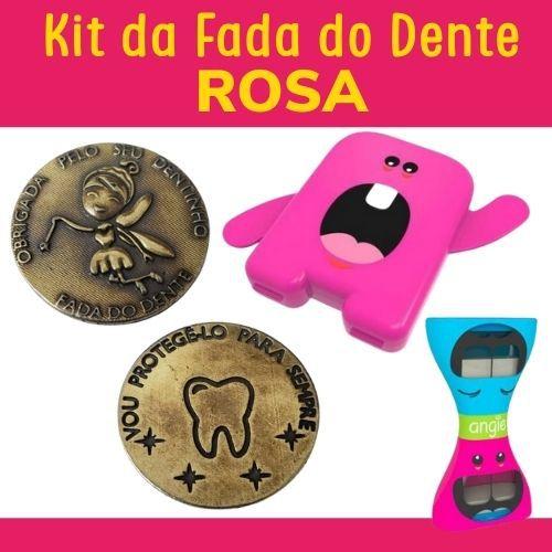 Kit Fada do Dente - ROSA