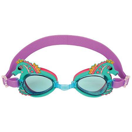 Óculos de natação divertido - UNICÓRNIO