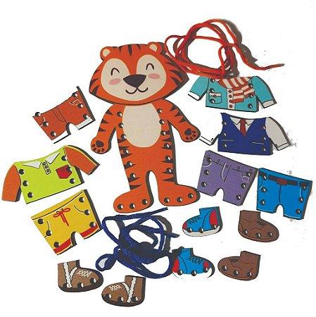 Alinhavo Tigre Fashion