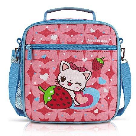 Lancheira Térmica Infantil - Gato FILHOTINHOS - Pink