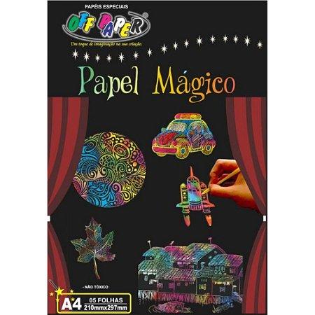Papel Mágico com Bastão - Kit com 6 peças