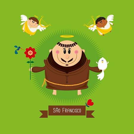 Capa de Almofada  São Francisco de Assis - Coisa de Santo