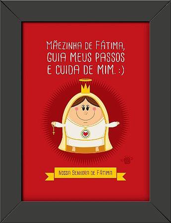 Quadrinhos Nossa Senhora de Fátima - Coisa de Santo