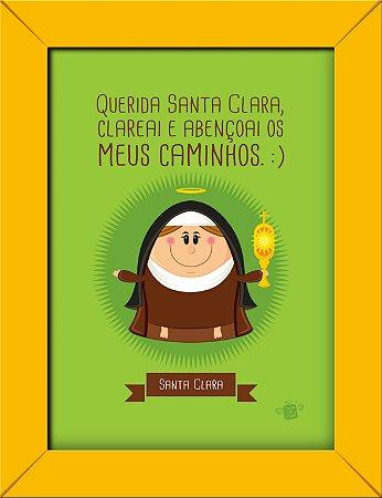 Quadrinhos Santa Clara - Coisa de Santo