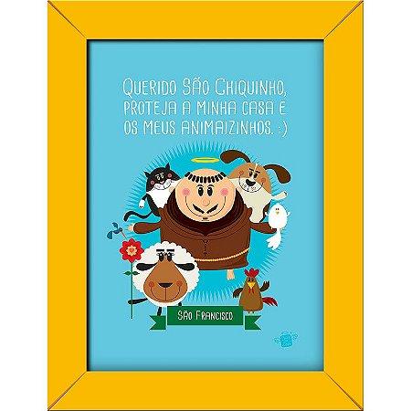 Quadrinhos São Francisco protetor dos animais - Coisa de Santo