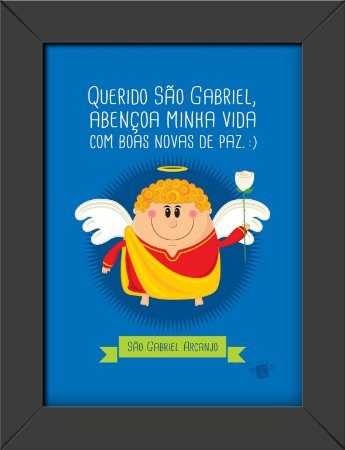 Quadrinhos São Gabriel Arcanjo - Coisa de Santo