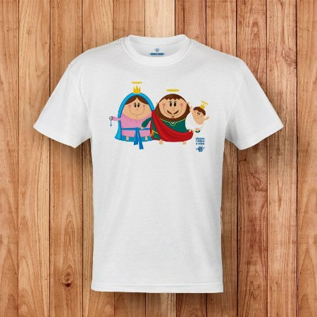 Camisa Sagrada Família - Coisa de Santo