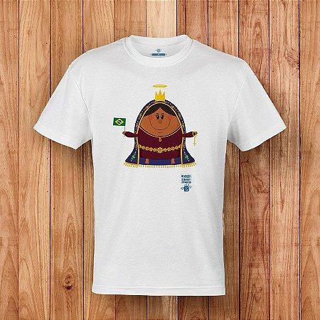 Camisa Nossa Senhora Aparecida - Coisa de Santo