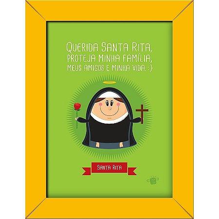 Quadrinhos Santa Rita - Coisa de Santo