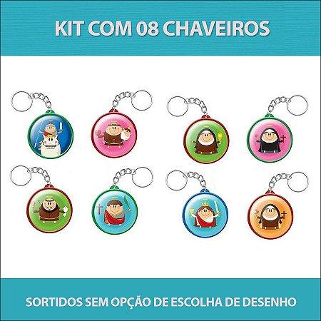 Kit de Chaveiros - Coisa de Santo