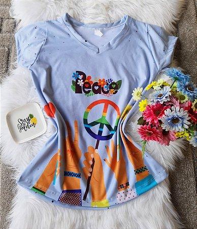 Blusa Feminina no Atacado Peace