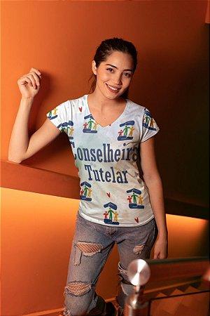 T shirt Feminina Profissão no Atacado Conselheira Tutelar