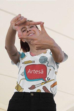 T shirt Feminina Profissão no Atacado Artesã
