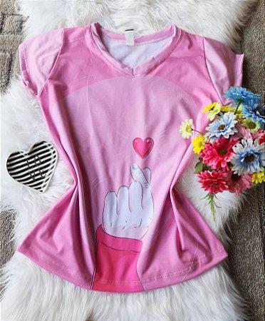 Blusa Feminina no Atacado Coraçãozinho