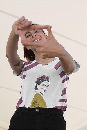 Blusa Feminina no Atacado Frida Kahlo